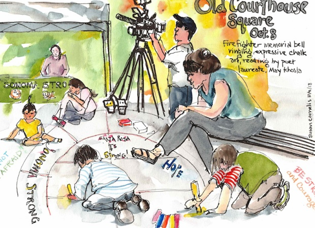 CourthouseSquare by Susan Cornelis